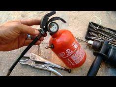 Compressor portátil Caseiro - YouTube