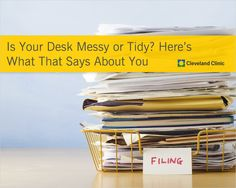 What does your desk say about you? #work
