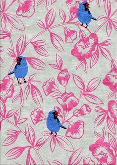 Birdsong Rug, Bazaar Velvet