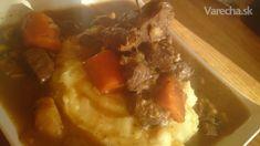 Diviačie ragú (fotorecept) Thing 1, Ale, Meat, Food, Beer, Ale Beer, Essen, Ales, Yemek