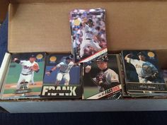 1993 Leaf Gold Baseball Set 1-550 PLUS GOLD Rookies(10),Plus All Other Subsets