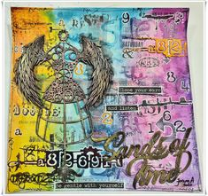 Jorunns fristed: Sands of Time Tim Holtz, Sands, Art Journaling, Creative, Art Diary, Performing Arts