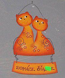 Dekorácie - Mačky na zavesenie - 5106976_