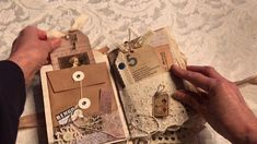 Vintage Junk Journal Sewing Theme (Sold)