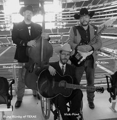 Sean Grace and Brad Allen with Nick Flint. Black and White looks Great! MDA Muscle Walk Cowboy Stadium - Arlington, TX  4/6/2013