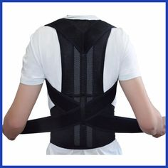 Cheap back shoulder supporting, Buy Quality back correct belt directly from China support belt back Suppliers: Back Shoulder Support Posture Correction Belt for Men Women Students Magnetic Corset Back Posture Corrector Brace Back Brace Posture Corrector, Posture Corrector For Men, Shoulder Brace, Shoulder Strap, Better Posture, Bad Posture, Sitting Posture, Posture Correction Belt, Human Body