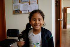 Meet Raquel, a first grade student at Young Living Academy!