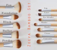 Zoeva Bamboo Set | Kuijp & Care