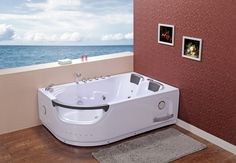 #WhirlpoolBaths - Creative 665 Left, a best quality two person bath.