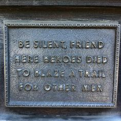 """Be silent, friend. Here heroes died to blaze a trail for other men."" - Plaque on the Front Door of the Alamo, San Antonio, Texas Republic Of Texas, The Republic, Eyes Of Texas, Only In Texas, Texas Forever, Loving Texas, Texas Pride, Lone Star State, Texas History"