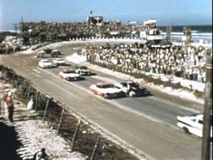 The 1957 Daytona Beach Race was one of the truly classic early NASCAR events, the cars had to be showroom stock with only some minor safety additions.