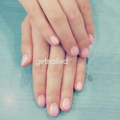 Pretty in Pink Ombré Gelish by emy of GETNAILED