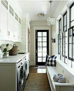 Sarah Richardson. Laundry/Mudroom/Hallway. Brilliant. design.