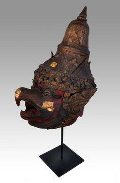 Garuda thai khon mask