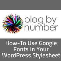 Erica totally helped me do this with a new site design I'm working on!  How to Use Google Fonts in Your #WordPress Stylesheet #blogging