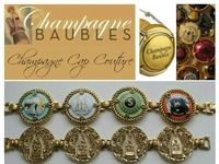 Champagne Cap Jewelry Champagne Baubles-