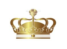 Gold Crowns Digital Clip Art Crown Clipart Decorative Scrapbook Elements School Teacher Commercial Personal Use INSTANT DOWNLOADS 10233. $5.90, via Etsy.
