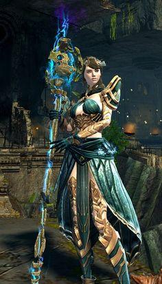 Elementalist - Guild Wars 2 Dye Combo - Guild Wars 2 Dye ...
