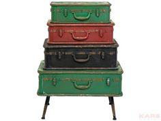 Dresser+Suitcase+Iron+4+Drawer