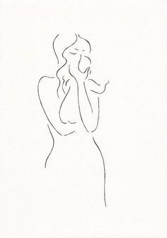Minimalist drawing of a mother with baby. Line art illustration by Siret Roots. The post Original sketch. Minimalist drawing of a mother with baby. Line art illustration& appeared first on Trendy. Baby Drawing, Line Drawing, Drawing Sketches, Painting & Drawing, Art Drawings, Family Drawing, Drawing Ideas, Cloud Drawing, Minimalist Drawing