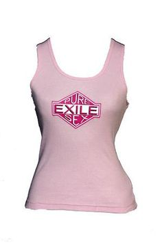 Exile Cycles Girls Pure Sex,  Pink Vest T-shirt Athletic Tank Tops, Cycling, Vest, Pure Products, Pink, T Shirt, Clothes, Collection, Girls