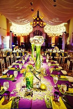 Were going to have us a mardi gras wedding LOL......can\'t wait to do ...