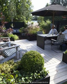 Marias design – www. Pergola Patio, Backyard Patio, Outdoor Spaces, Outdoor Living, Outdoor Decor, Outside Patio, Pool Houses, Garden Planning, Garden Inspiration