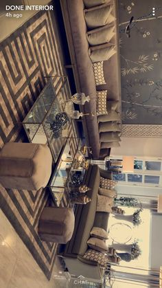 Living Room Decor Inspiration, Living Room Decor Cozy, Elegant Living Room, My Living Room, Luxury Bedroom Design, Home Room Design, Dining Room Design, Home Decor Furniture, Home Decor Bedroom