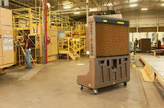 Enfriador Evaporativo - Port-A-Cool: Proyecto climatización nave industrial bioclimatiz...
