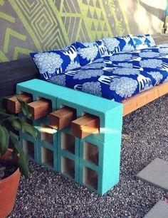 Unique Bench for Fire Pit!