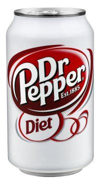 Diet Dr Pepper is another staple drink of mine. I love it. For the favorite carbonated drinks assignment.