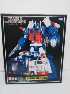 TAKARATOMY Transformers Masterpiece MP-22 G1 ULTRA MAGNUS with COIN NEW #Takara