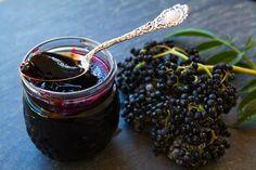 Elderberry Jelly Recipe on SimplyRecipes.com