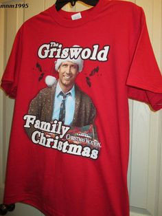 Available in our eBay store...click photo for details.  Christmas Vacation T-Shirt Griswold Family National Lampoon's Size Medium NWOT #JERZEES #ShortSleeve #Griswold #Christmasvacation #vacation #Beverly #Clark #CousinEddie