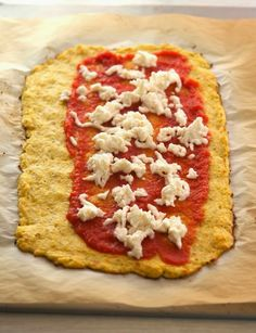 The Iron You - A healthy living blog with tasty recipes: Cauliflower Crust Stromboli