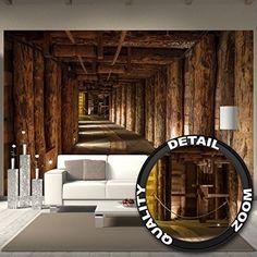 3d fototapete alte goldmine vliestapete breit fototapete alter und wandgestaltung. Black Bedroom Furniture Sets. Home Design Ideas