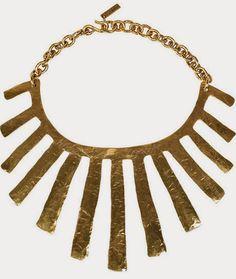 Babie letá: 50+: Veľké náhrdelníky - YSL