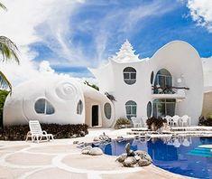 The Seashell House, Isla Mujeres, Mexico - Strangest Vacation Rentals | Travel + Leisure