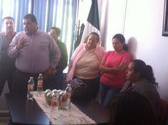 Secretario General con los compañeros de academias municipales.
