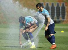 Treino da seleção portuguesa, em Campinas REUTERS/MAURO HORITA