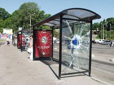 40 Clever and Creative Bus Stop Advertisements | DeMilked Bus Stop Advertising, Guerrilla Advertising, Clever Advertising, Guerilla Marketing, Street Marketing, Bus Stop Design, Real Skateboards, 32 Cool, Bus Shelters