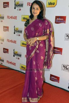 Amala Akkineni during the 61st Idea Filmfare Awards South #Style #Kollywood #Tollywood #Fashion #Beauty