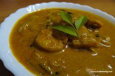 Prawns n Mango - Prawns curry in kerala traditional way