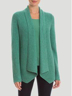 Cardigan Pattern, Crochet Cardigan, Knit Crochet, Hand Knitted Sweaters, Cardigan Sweaters For Women, 10 Item Wardrobe, Handgestrickte Pullover, Knitting Designs, Crochet Clothes