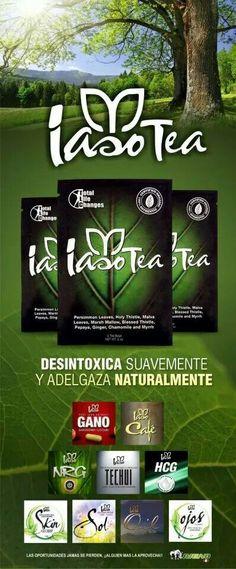 Iaso tea cambia tu vida