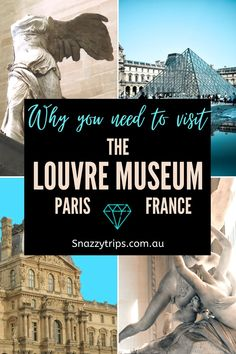 Why You Need To Visit The Louvre Museum 46 Paris France Travel, Paris Travel Tips, Asia Travel, Travel Ideas, Travel Guide, Beautiful Places To Visit, Cool Places To Visit, Visit France, Travel Photography
