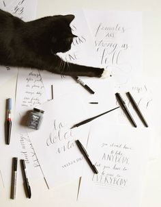 Calligraphy & Lettering: A primer for beginners.