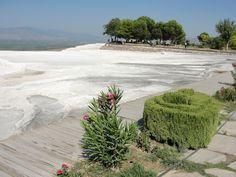 #magiaswiat #turcja #podróż #wakacje #zwiedzanie #europa  #blog #kościół #ruiny #wieża #pamukkale #miasto #hierapolis #efez #meryemana Pamukkale, Plants, Blog, Blogging, Plant, Planets