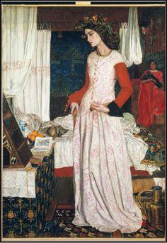 Guinevere, 1858, by William Morris