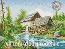 ДОМИКИ, ДВОРИКИ Cross Stitch, Cross Stitch Landscape, Scenery